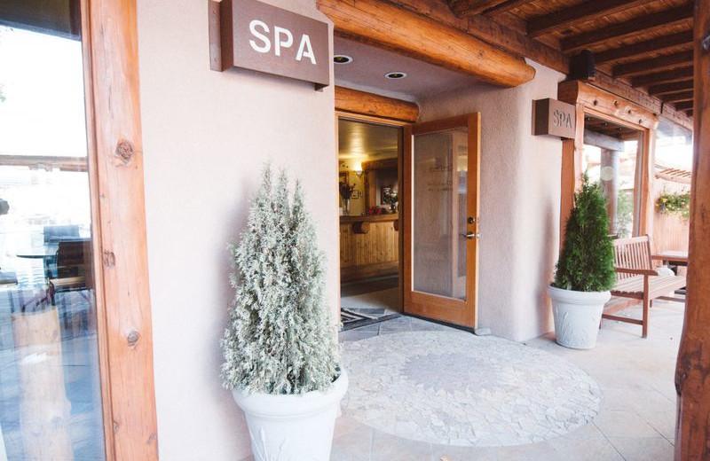 Spa Entrance at Chipeta Solar Springs Resort