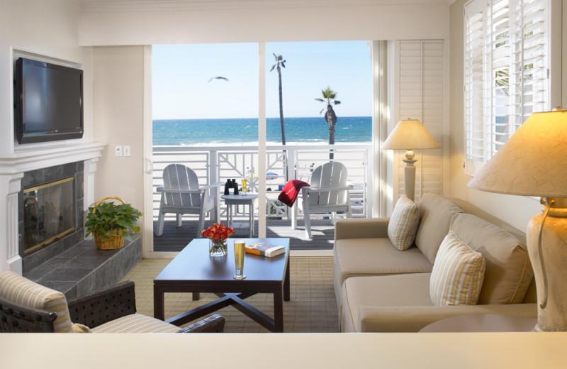 Guest room at Beach House Hotel Hermosa Beach.