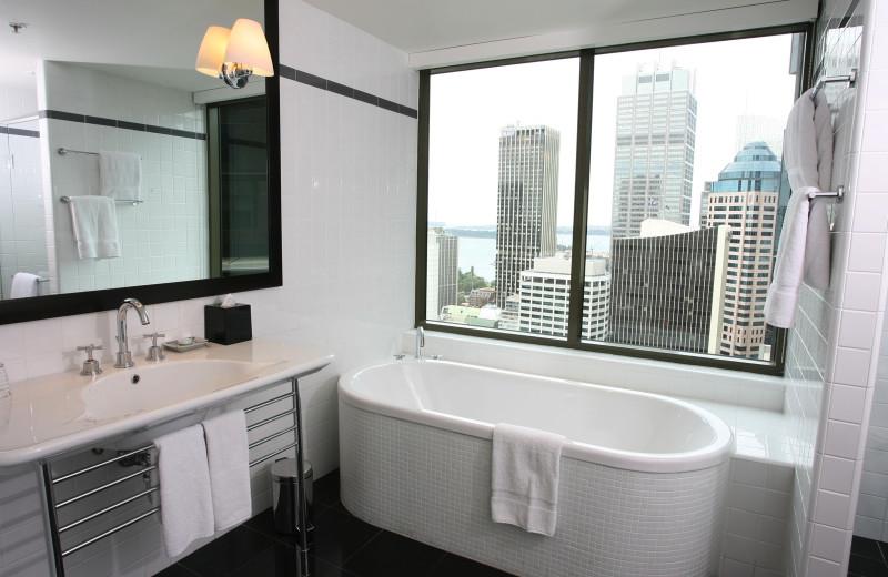 Bathroom at Amora Hotel Jamison Sydney.