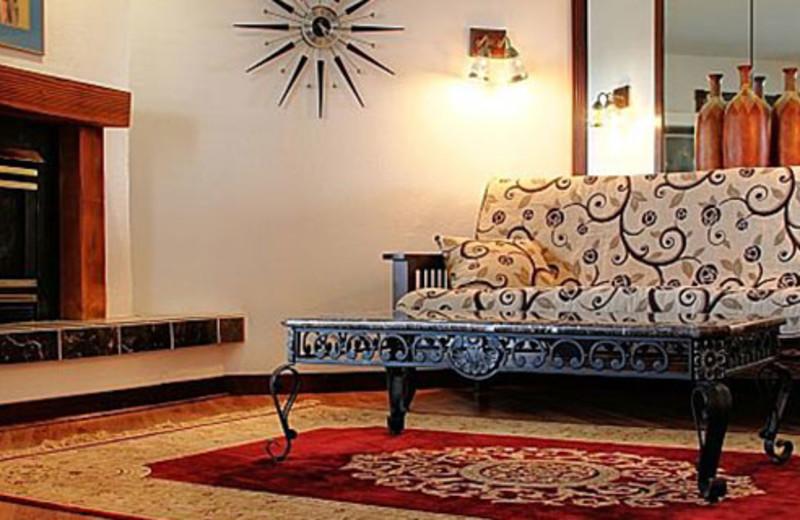Guest room at Inn at Paradise.