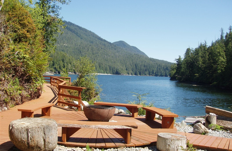 Ocean view at Eagle Nook Wilderness Resort and Spa