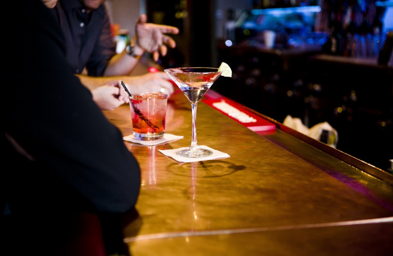 Bar at Jorgenson's Inn & Suites.
