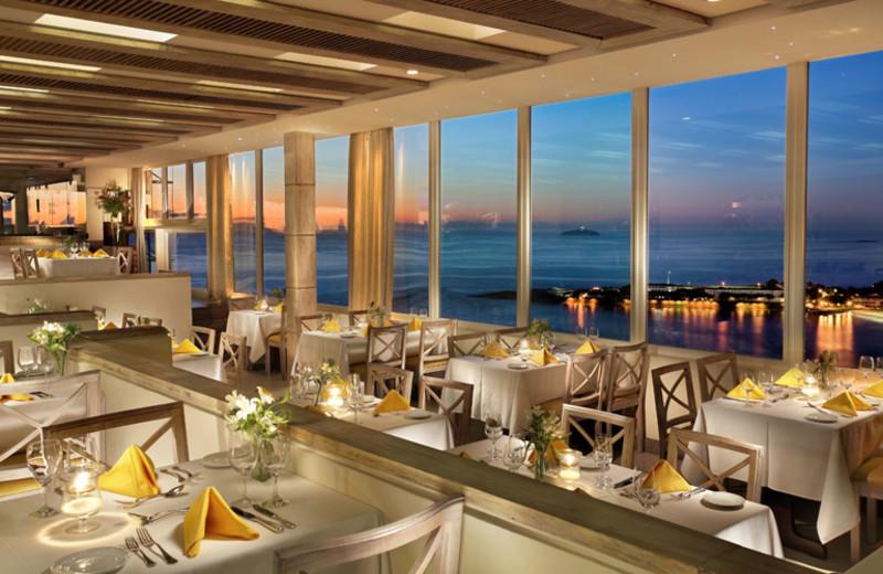 Dining at Rio Othon Palace.