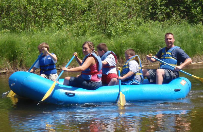 Rafting at Big Bear Adventures.