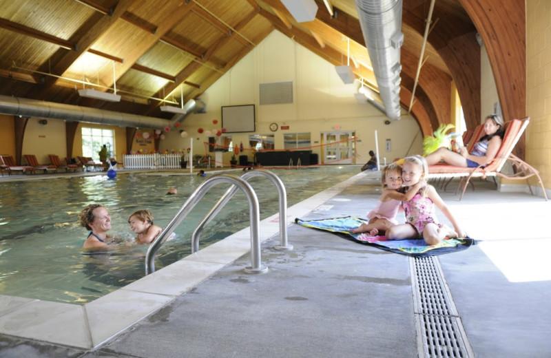 Indoor pool at King's Creek Plantation.