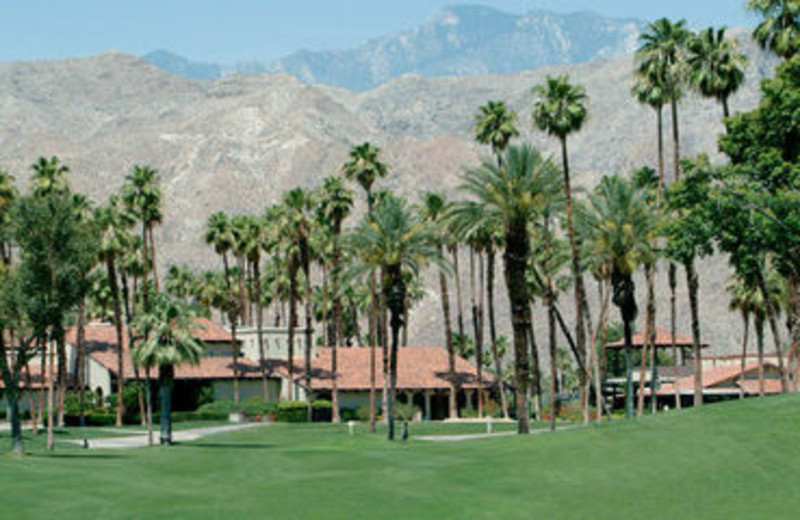 Exterior View of Rancho Las Palmas Resort