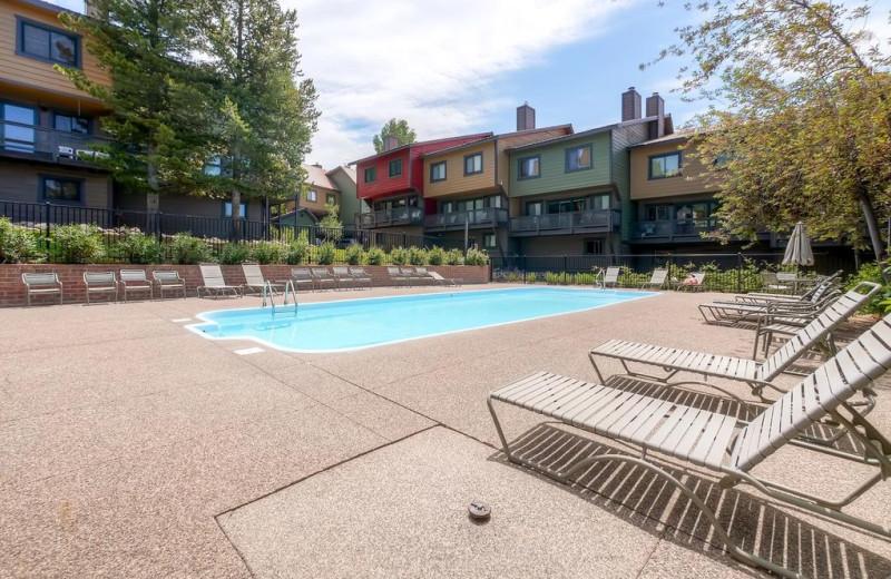 Rental pool at Nomadness Rentals.