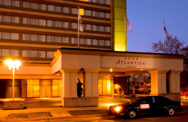 Exterior View of Atlantica Hotel