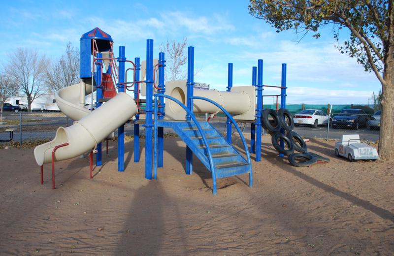 Children's playground at American RV Park.