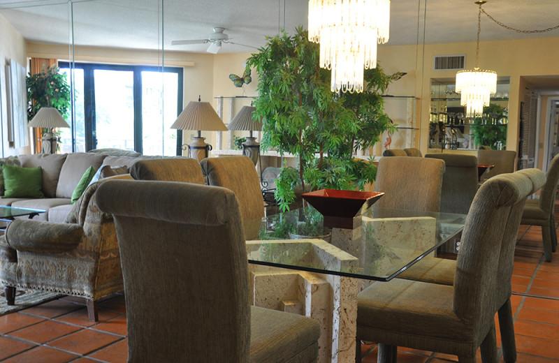 Vacation rental interior at Rent Key West Vacations.