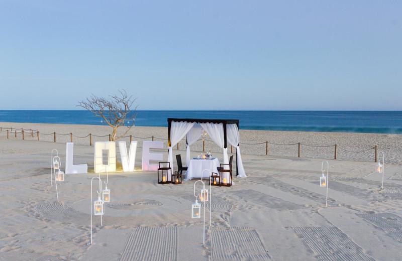 Beach wedding at Royal Solaris - Los Cabos.