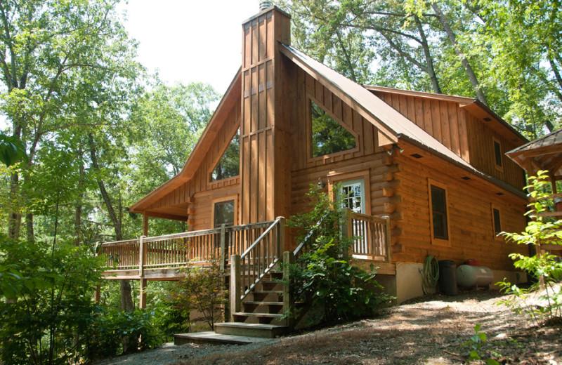 Cozy cabin at Rock Creek Cabins