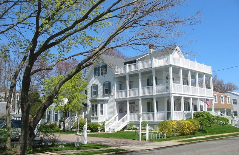 Exterior view of White Lilac Inn.