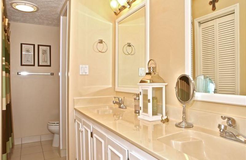 Rental bathroom at Anchorage Rentals, LLC.