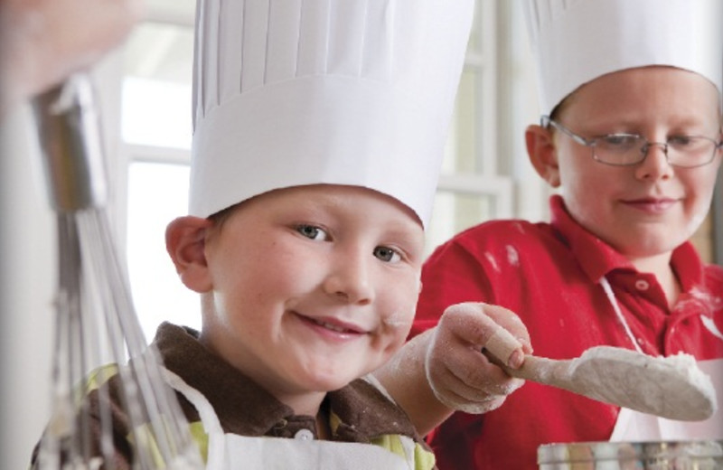 Cooking classes at French Lick Resort.