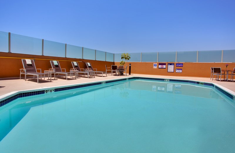 Outdoor pool at Holiday Inn Hotel & Suites Anaheim - Fullerton.