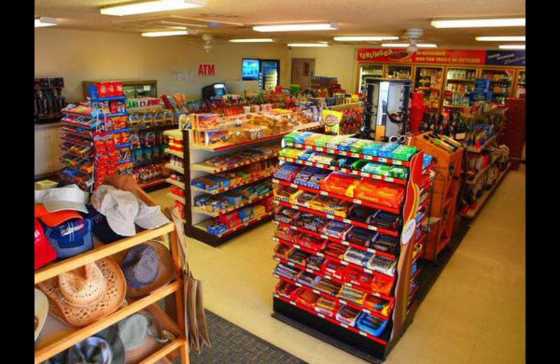 Convenience room at Big Bend Resort & Adventures.