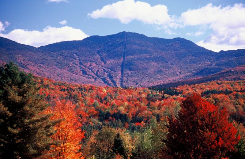 Mountain views at Smugglers' Notch Resort.
