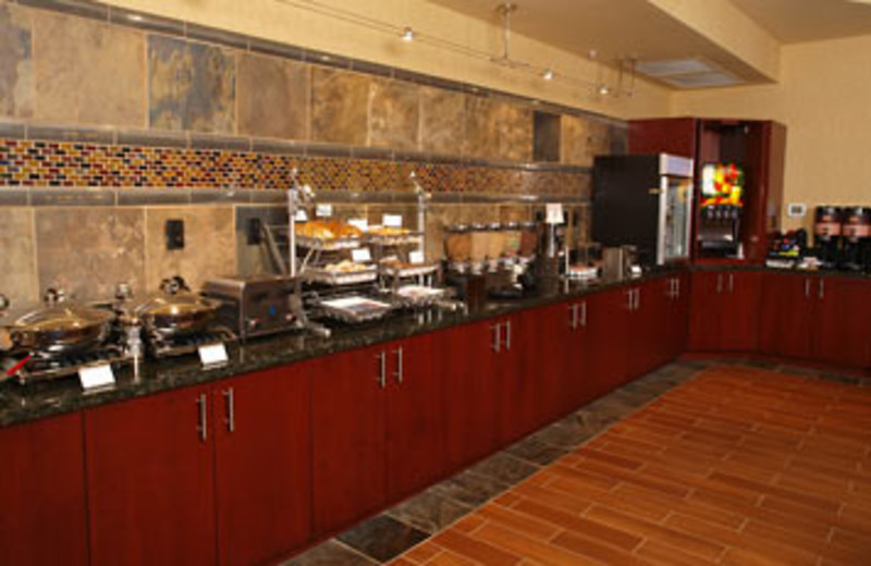 Continental Breakfast at SpringHill Suites - Pigeon Forge