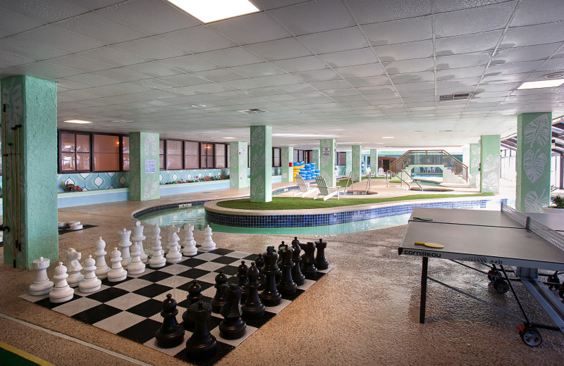 Chess at Long Bay Resort.