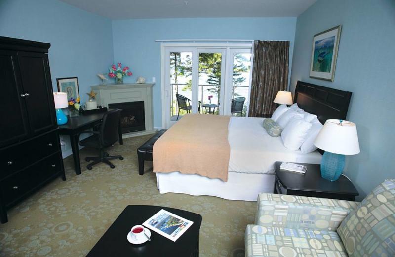 Spa suite at Sebasco Harbor Resort.