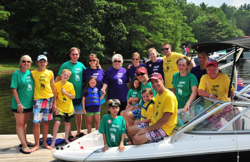 Reunions at Taylor-Made Deep Creek Vacations.
