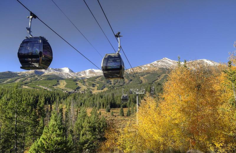 Ski lift at Grand Lodge on Peak 7.