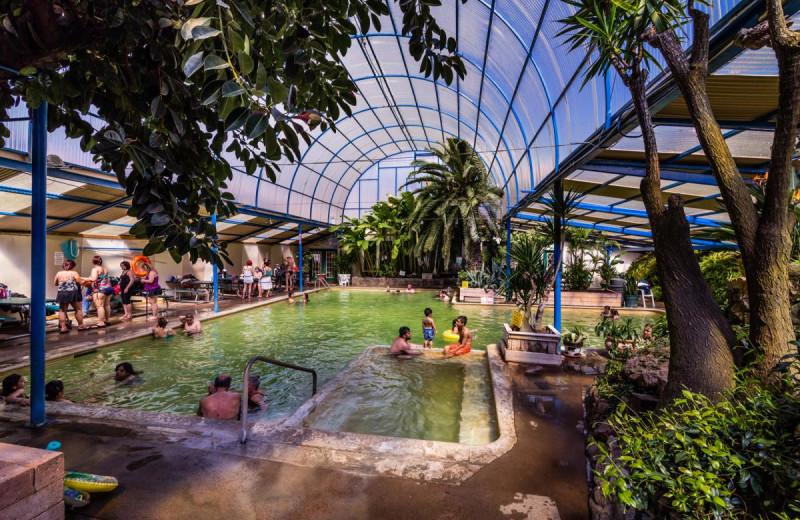 Hot spring at Indian Springs Resort