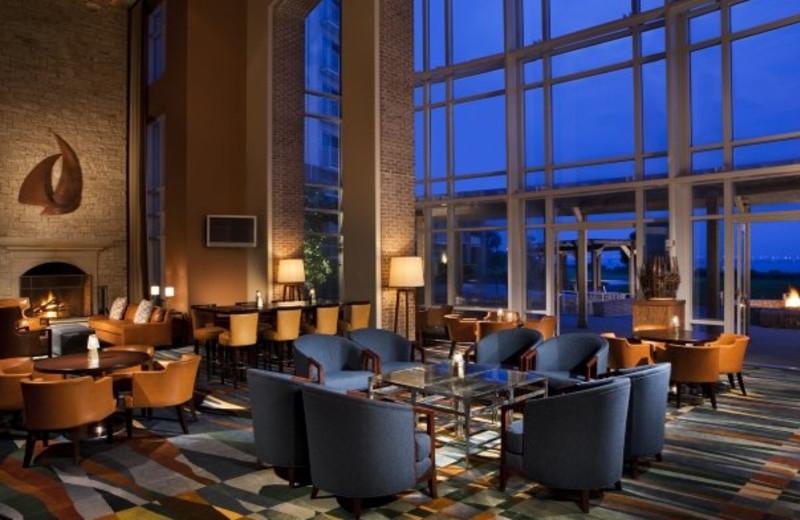 Lobby view at Hyatt Regency Chesapeake Bay Golf Resort, Spa and Marina.