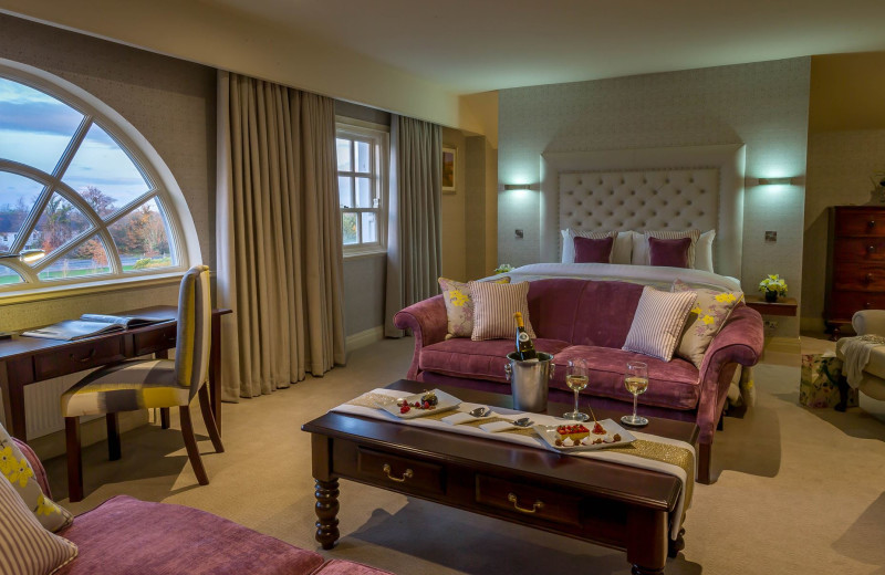 Guest suite at Slieve Russell Hotel Golf and Country Club.