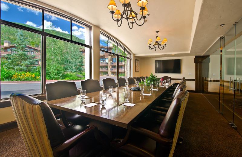 Meeting room at Manor Vail Lodge.