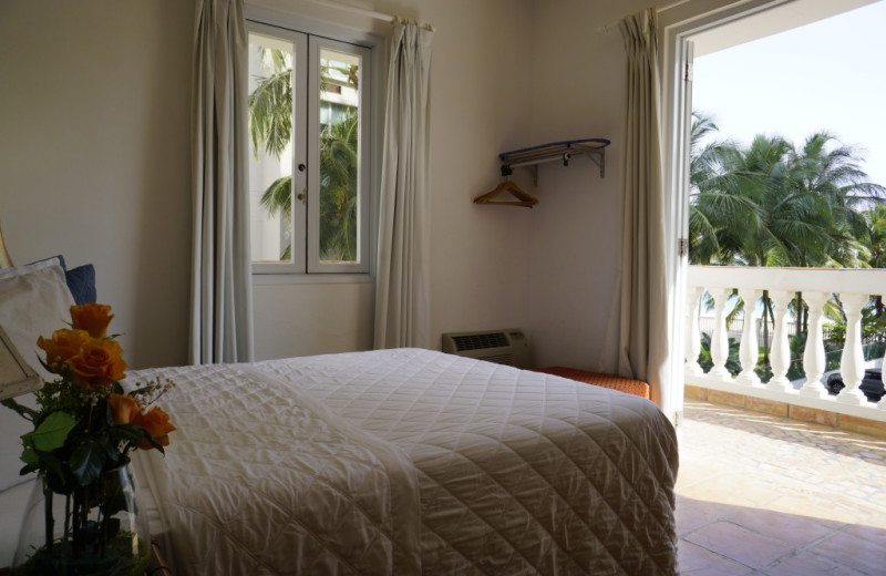 Guest room at Acacia Boutique Hotel.