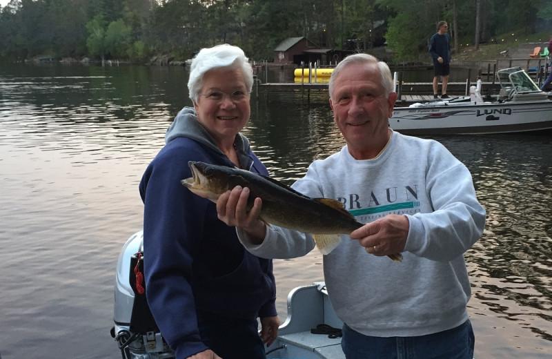 Fishing at White Eagle Resort.