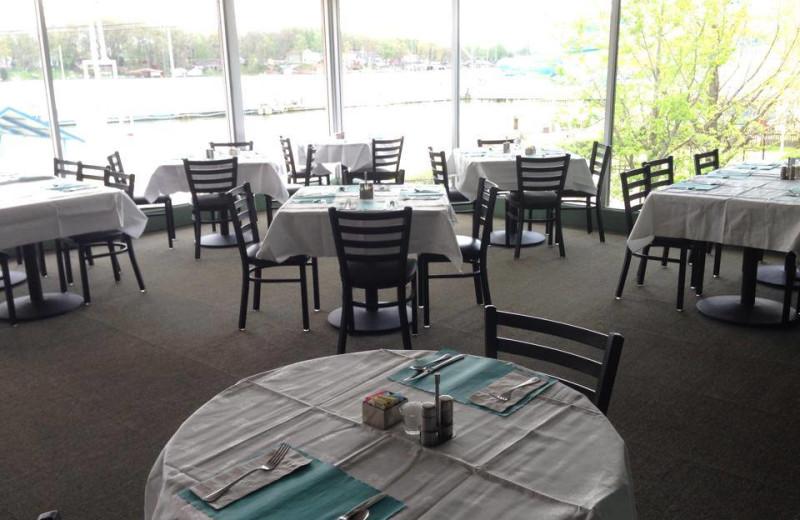Dinning at Indiana Beach Amusement Resort.