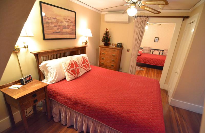 Guest room at Birchwood Inn.