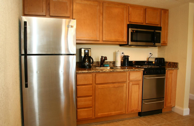 Guest kitchen at Beso Del Sol Resort.