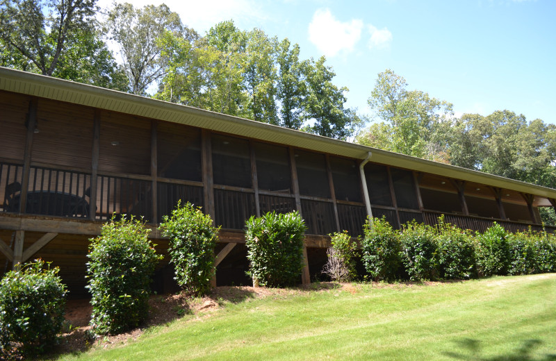 Exterior view of Sautee Mountain Retreat