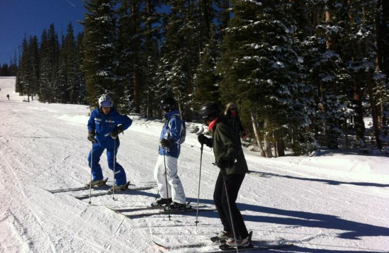Skiing at East West Resorts Beaver Creek.