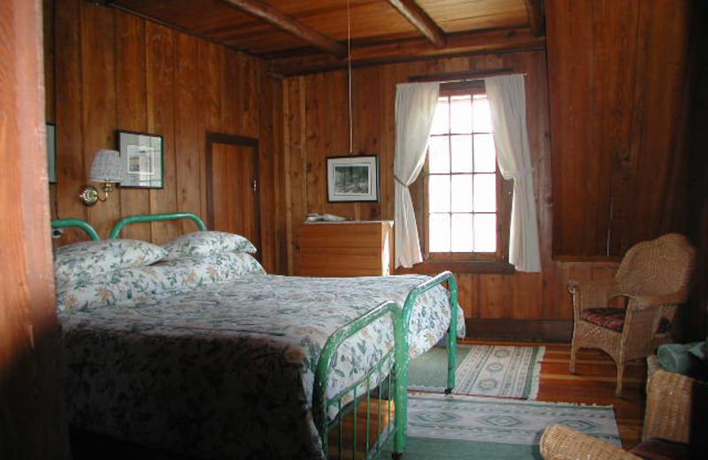 Lodge room at Rising Wolf Ranch.