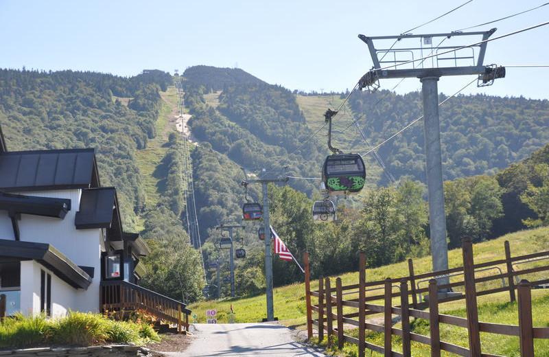 Ski lift at GetAway Vacations.