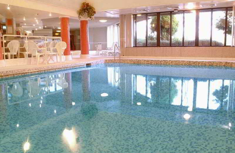 Indoor pool at Preston Swallow Hotel.