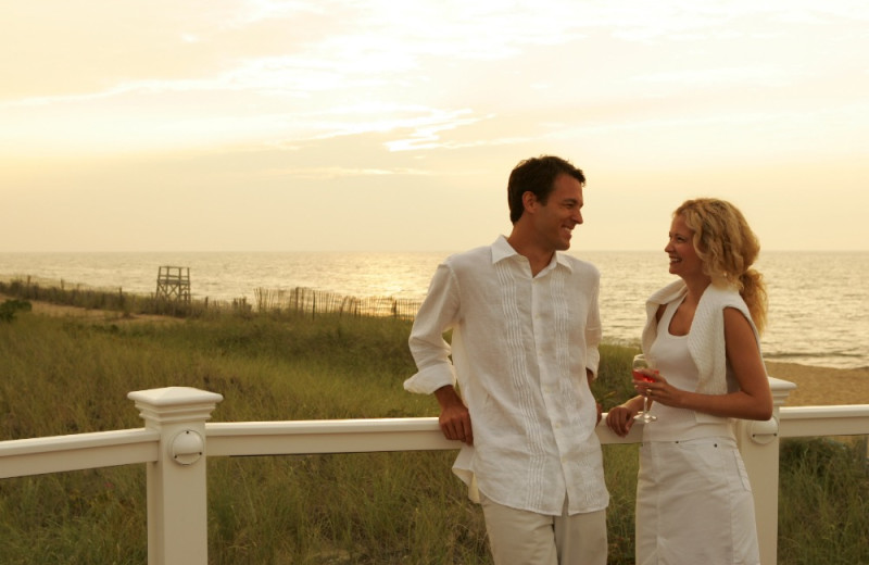 Couple at New Seabury Resort.