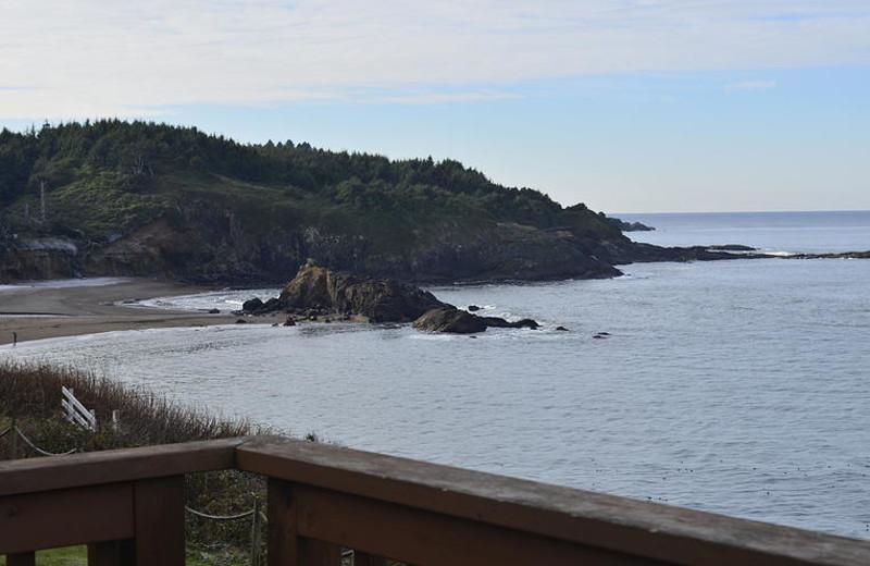 Ocean view at Surfrider Resort.