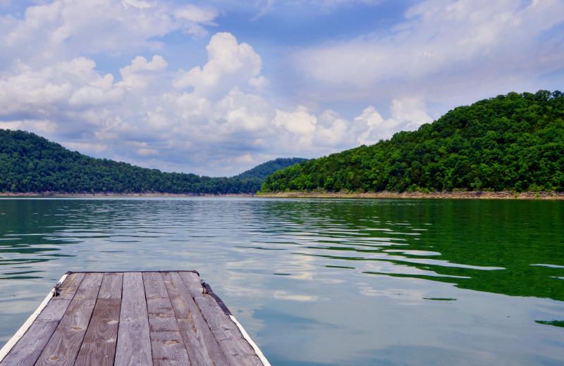 Lake view at The Retreat at Center Hill Lake.