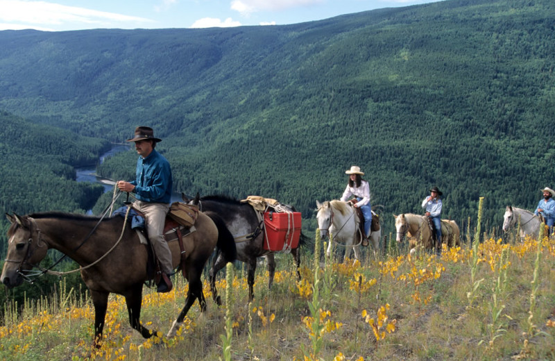 Horseback riding at realTopia Vacation Rentals.