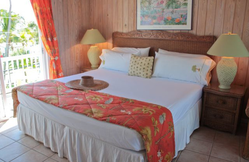 Guest room at Hope Town Harbour Lodge.