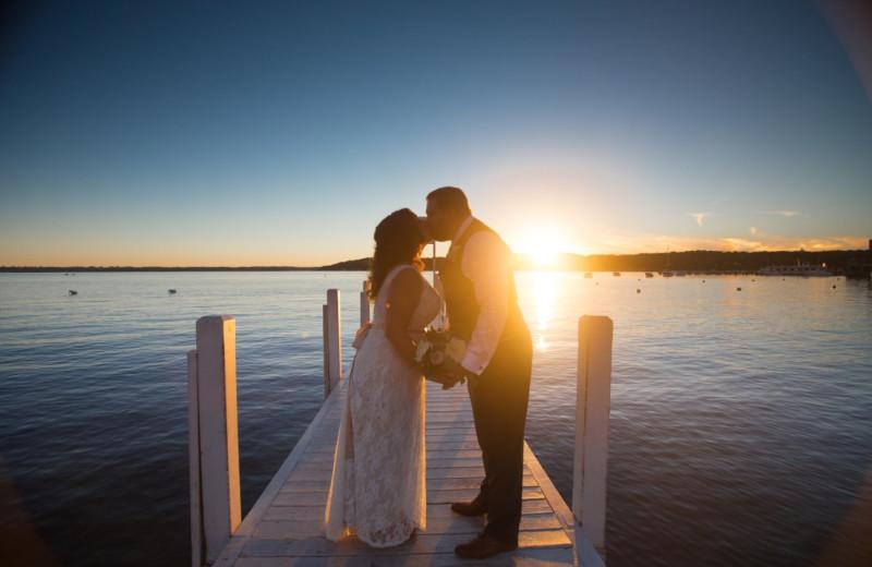 Weddings at Harbor Shores on Lake Geneva.