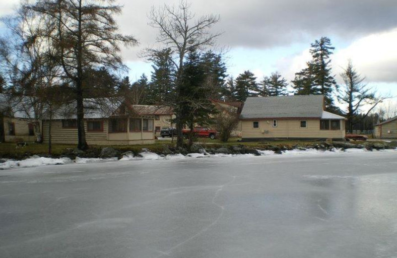 Exterior view of Wilsons on Moosehead Lake.