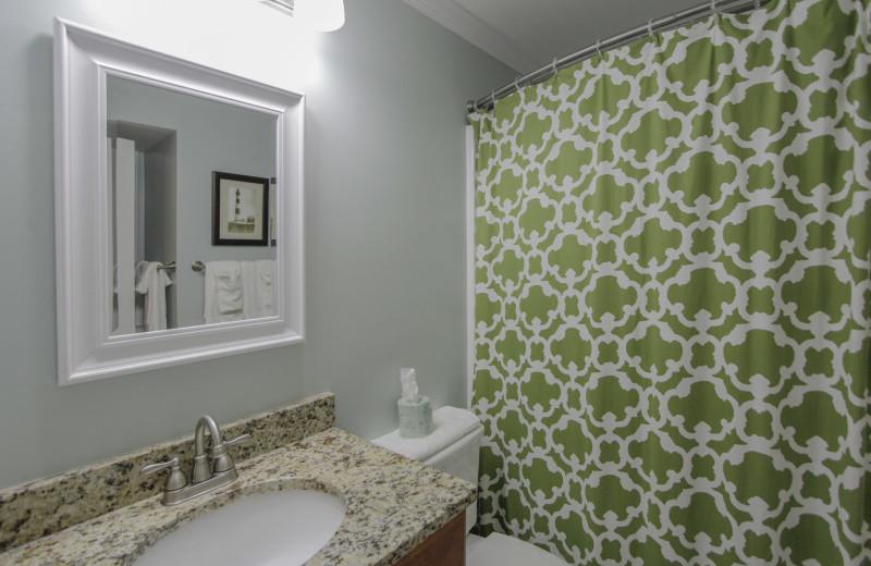 Bathroom at Sea Cabin 302 A.