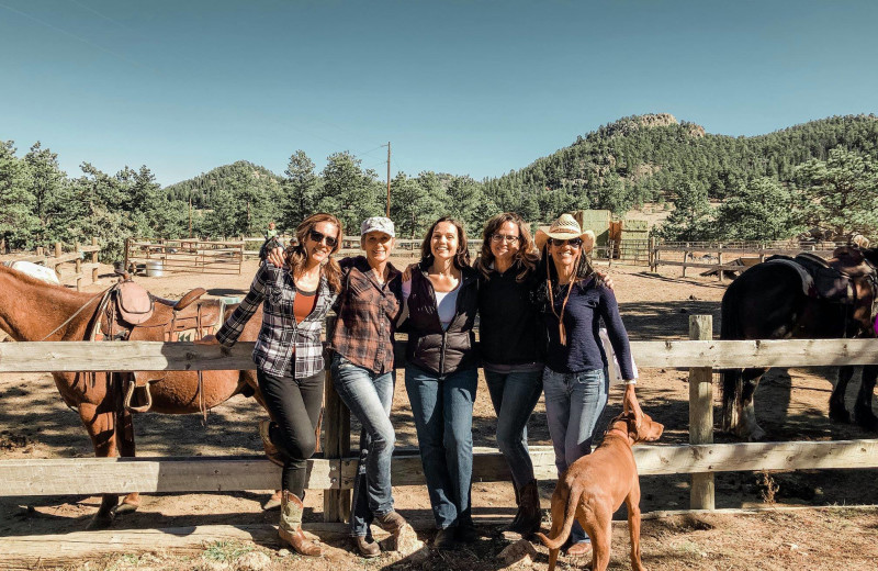 Groups at Sundance Trail Guest Ranch.